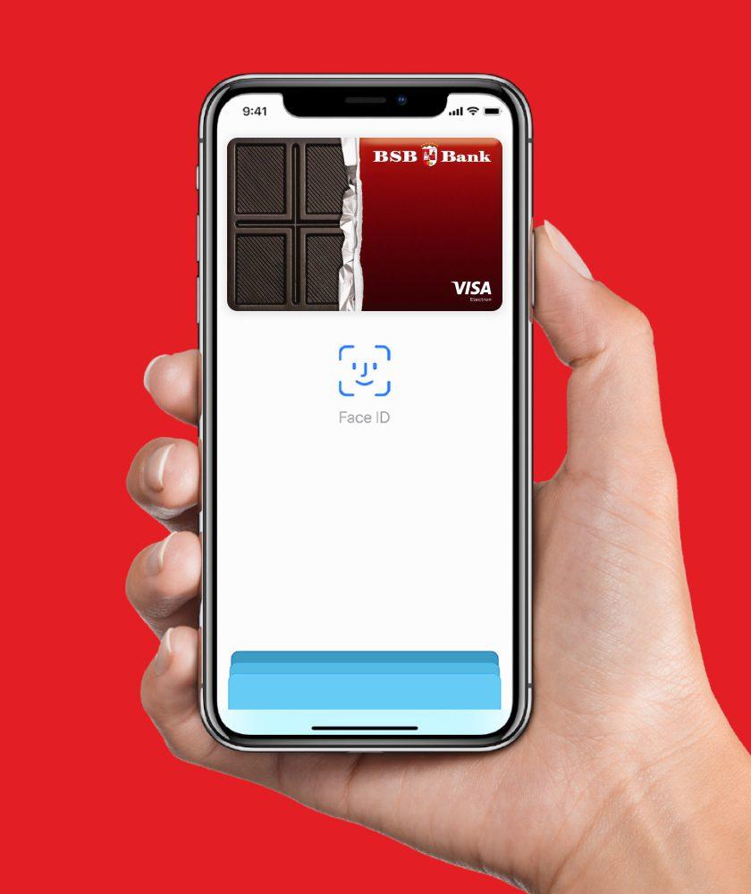 создание и разработка промо-сайта для запуска Apple Pay от ЗАО «БСБ Банк»